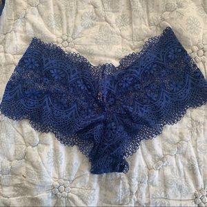 Victoria Secret Shortie Panty, Navy, Size M, NWT
